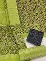 Exclusive Natural Bagru Hand Block Printed Cotton Dress Material With Cotton Dupatta.