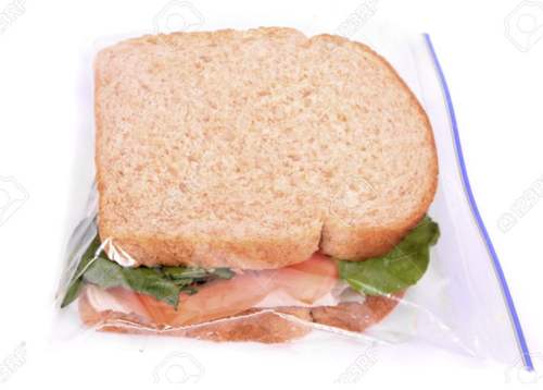 Transpa Plastic Sandwich Bag