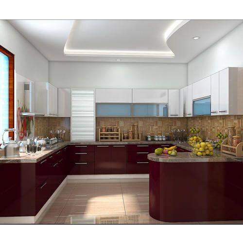 Kube G Shape Modular Kitchen, Warranty: 1-5 Years