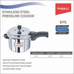 Stainless Steel Pressure Cooker 5 ltr (EP5)