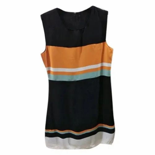 7a23840b426d9 Ladies Sleeveless Casual Cotton Top