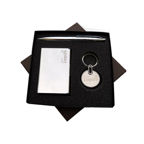 Corporate Letterhead At Rs 3 Piece: Anniversary Leather 3-In-One-Set Corporate Gifts, Rs 200