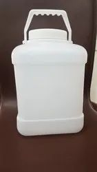 White HDPE Square Container