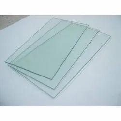 Rectangular Transparent Glass Sheets, Size: 7x10, 7x12 Feet, Shape: Flat