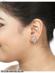 Designer American Diamond Elegant Stud Earrings