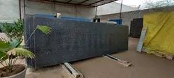 Polished, Leather Finish Steel Gray Granite, Thickness: 18mm