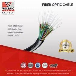 6 Core Fibre Optic Cable, For Internet. Cctv, Standard