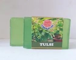 Neem & Tulsi Glycerin Soap - Transparent