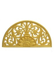 Semi Circle(Arch) Wedding Stage Carved Backdrop Panels