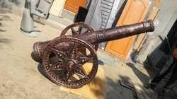 Fiber Decorative Cannon