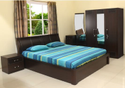 Nilkamal Mdf Antonia Bedroom Set, For Home