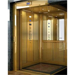 Glass Door Passenger Lift, With Machine Room