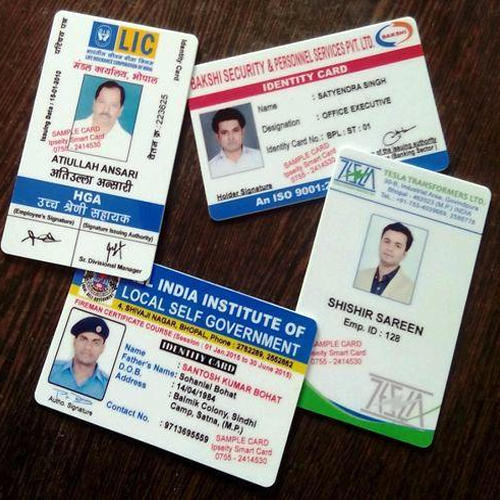 Pvc One Ipseity Card Card 10 Id piece Smart Rs 9445831833 Printed Identity Sided