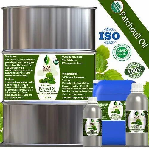 Organic Patchouli Oil