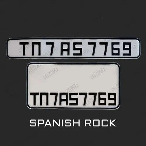 Bike Number Plate Design
