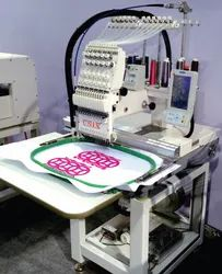 UNIX Single Head Computerised Embroidery Machine