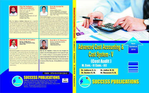 Accounting book cost advanced