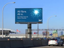 Digital Signage for outdoor visual publicity