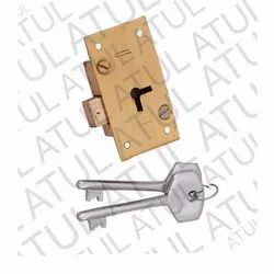uday laxmi cup borad Brass Cubboard Lock, golden, Packaging Size: 6-pes Per Box