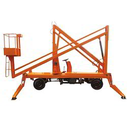Articulating Work Platform Aerial Boom Lift
