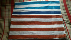 Striped  Cotton Terry Towel