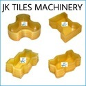 Zigzag Square Silicon Paver Molds, For Paver Block