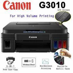 Color Inkjet Ink Tank Printer Canon G3010, 4800, 5
