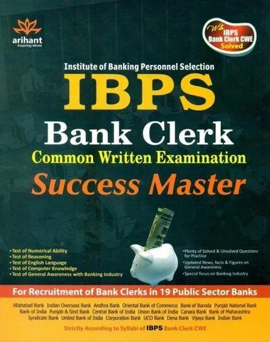 Exam clerk book ibps for
