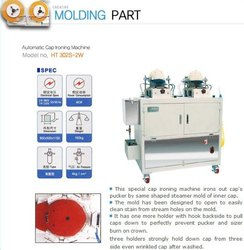 Cap ironing  Machine korean make
