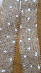 Jute One Side Lace Ribbon