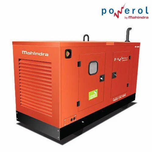 Mahindra Powerol 25kVA Diesel Generator Sets Power 20 KW