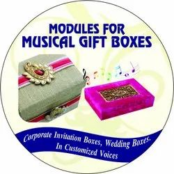 Voice Music Module for Gift Boxes for  Festival Gift And Corporate Promotional Business Gift