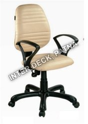 Revolving Leather Office Chair