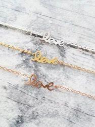 Love Bracelet Chain New Design Trendy Hot Fashionable Heart Touching Bracelet