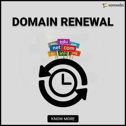 English, Hindi Domain Renewal Services