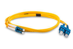 SC to LC Fiber Optic Patch Cable