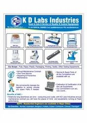 Instrument Service and Calibration & Certification, 100