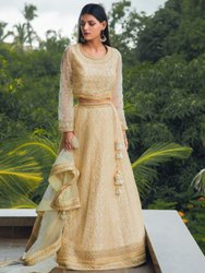 Heavy Embroidered Bridal Lehenga With Blouse By Parvati Fabric (76599)
