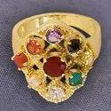 Designer Navratan Ring