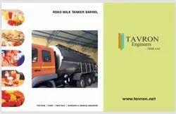 Road Milk Tanker Barrels