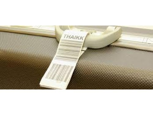 Airlines Barcode Tags