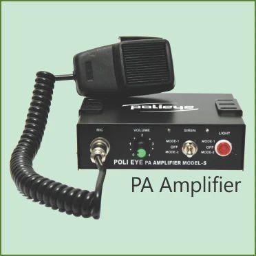 Pa Siren Amplifiers