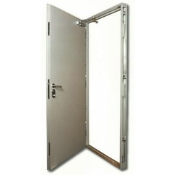 Single Door Stainless Steel Security Door