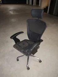 Wire Net High Back Chair