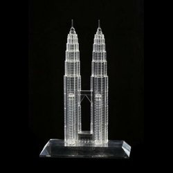 Tower Designer Crystal Miniatures