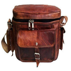 Leather Office Lunch Bag