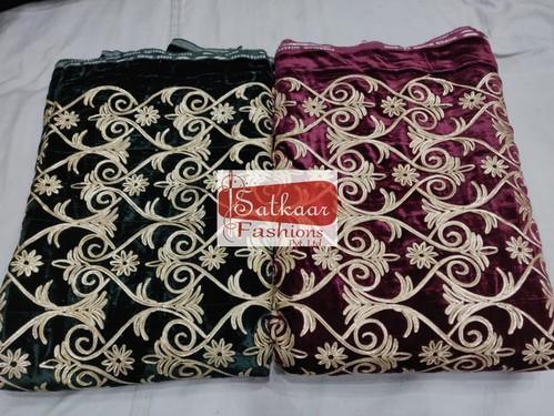 Satkaar Embroidered Velvet Authentic Gota Experience 7390d87e7