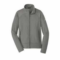 Mens Grey Fleece Jacket
