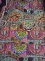 Tribal Asian Printed Kantha Quilt