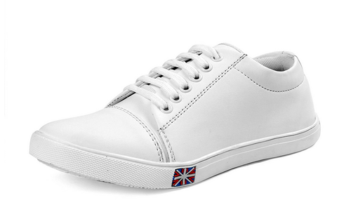 Shoebox Men''s White Sneakers Shoes